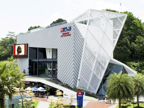 iFLY Singapore wind tunnel exterior