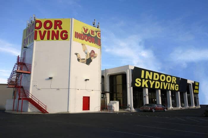 Vegas Indoor Skydiving just off the Las Vegas strip