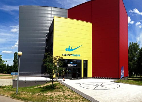 Freefly Center in Poland building exterior