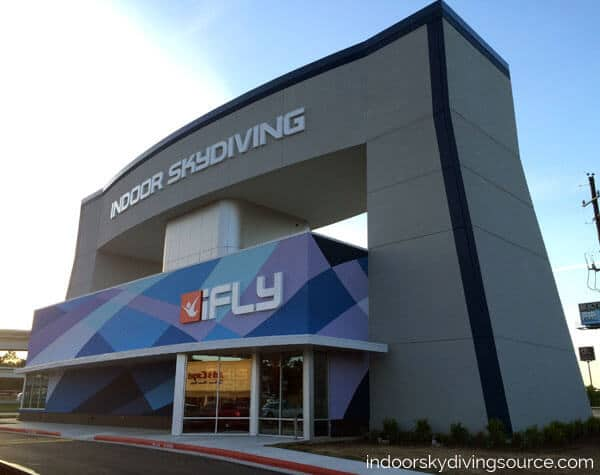 iFLY Houston Woodlands ground level 14 foot wind tunnel