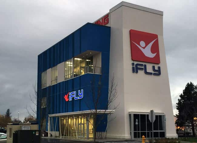 iFLY Portland facility in Tigard