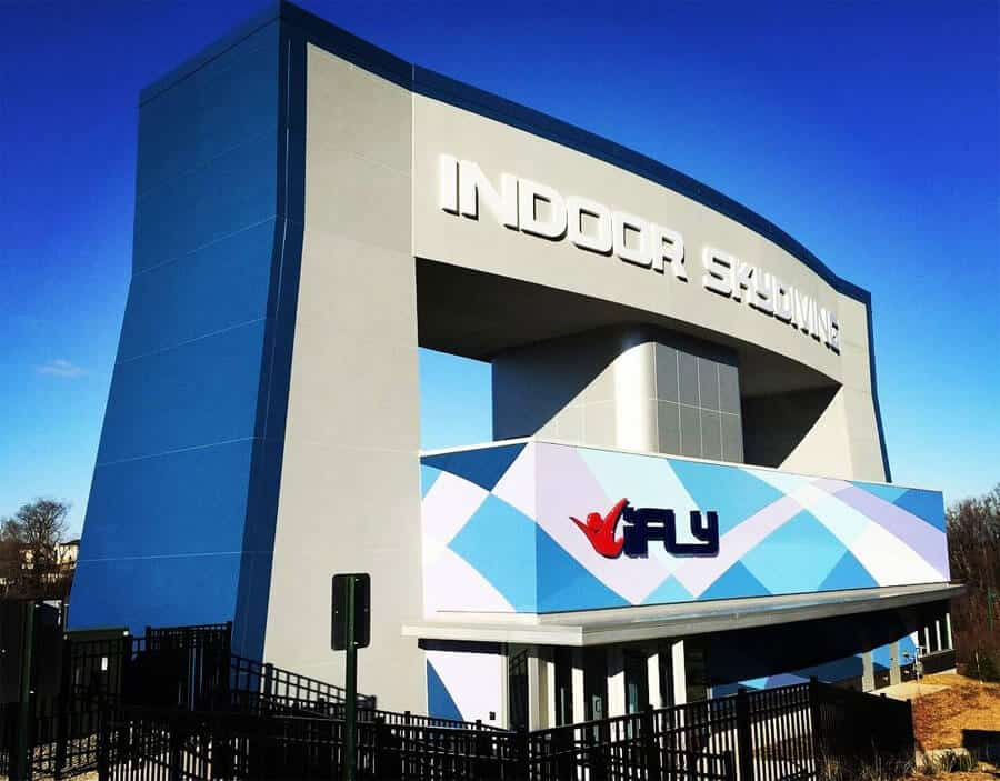 Ifly westchester yonkers new york indoor skydiving source the ifly westchester facility reheart Choice Image