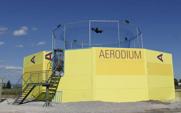 Flyers in Aerodium Bulgaria