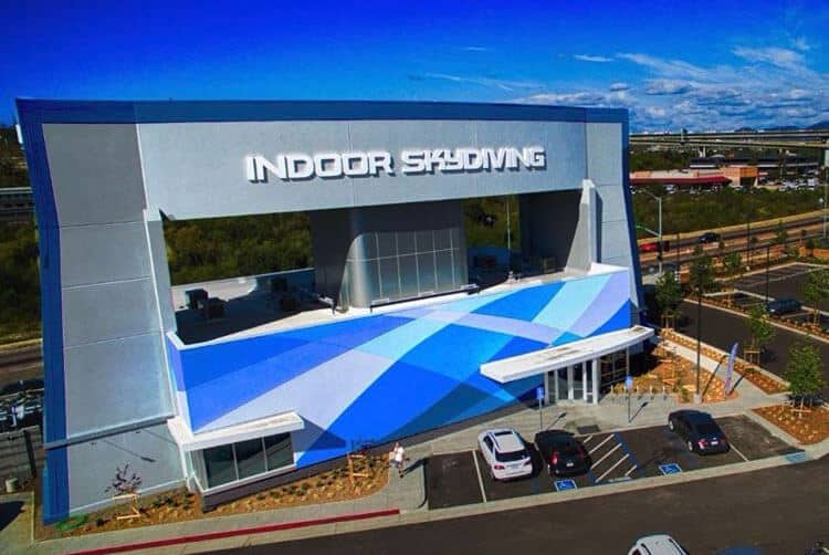 iFLY San Diego Facility Daytime by @dronesurfer