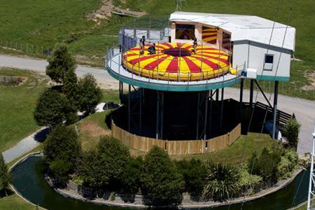 Freefall Xtreme wind tunnel in New Zealand