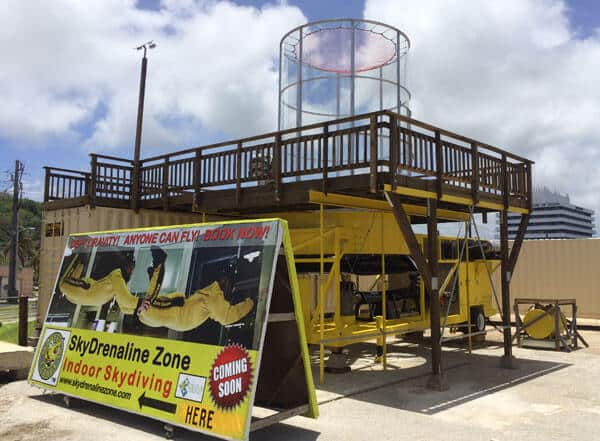 Skydrenaline Zone portable wind tunnel