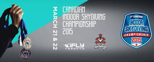Canadian Indoor Skydiving Champs 2015 Flyer