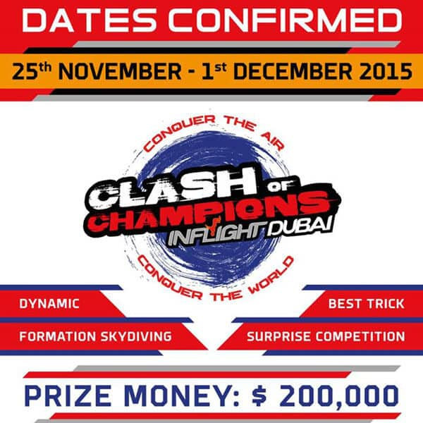 Clash of Champions Flyer