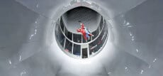 History of Vertical Wind Tunnels