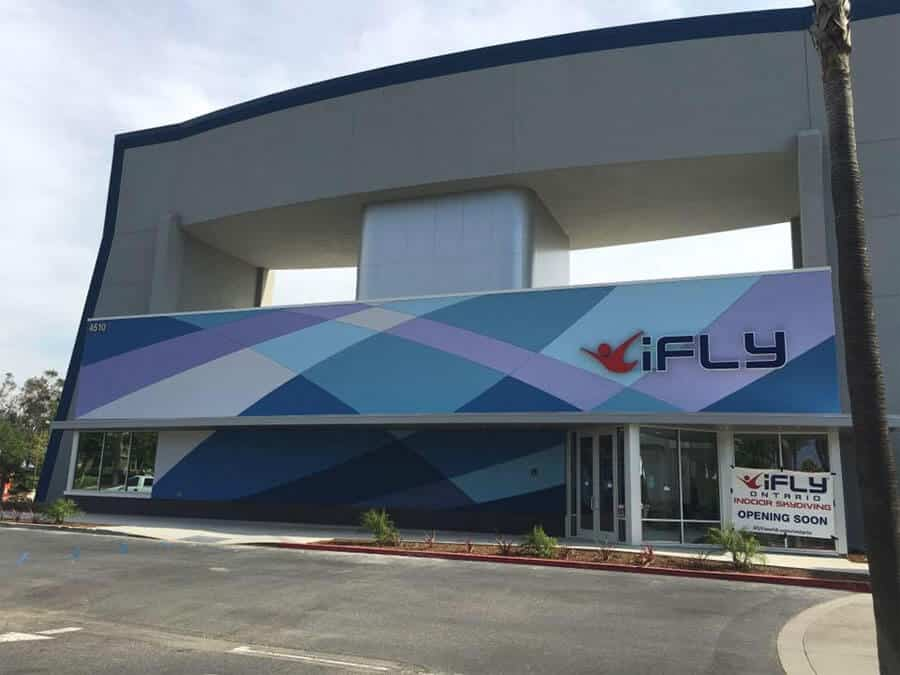 iFLY Ontario California Wind Tunnel Facility