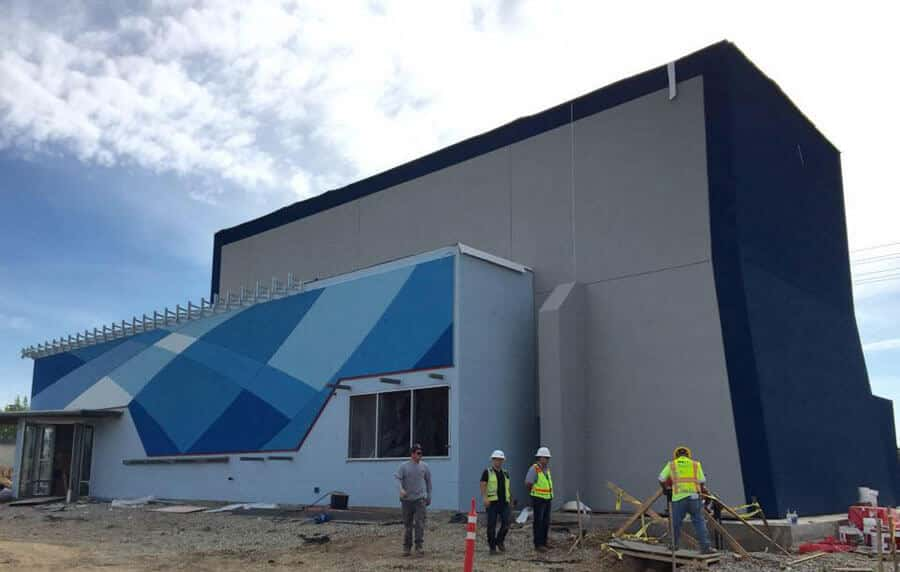 iFLY Sacramento Nearing Completion