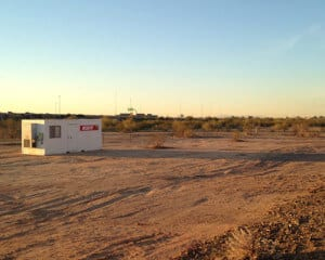 The land for the future FliteShop location in Scottsdale, Arizona