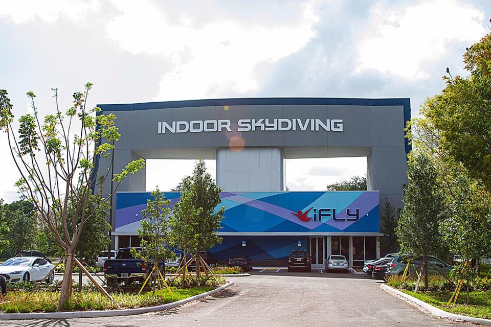 Exterior of iFLY Fort Lauderdale