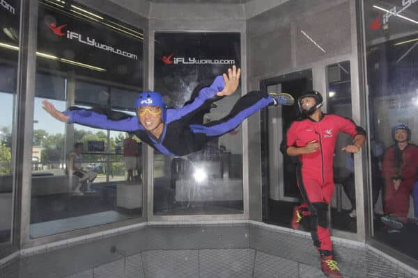 With iFly you don need to take that risk though. Their indoor flying service is as close as you can get to skydiving, without heading for the heavens. Their service is available for all of the family and makes for an unforgettable day out.