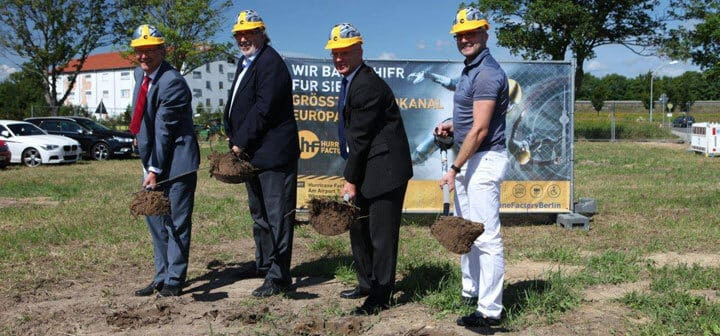 Hurricane Factory Berlin Team Puts Shovels in the Ground