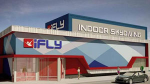 iFLY Single Recirculating 12 Foot Wind Tunnel