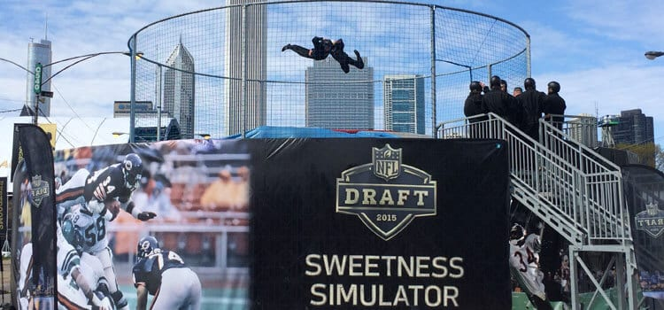 Sweetness Simulator at the NFL Draft