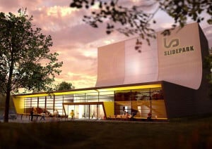 Rendering showing SlidePark Bordeaux