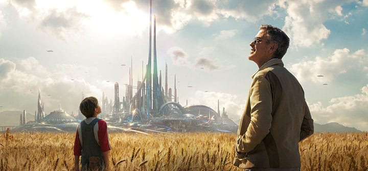 Tomorrowland Movie Poster Image