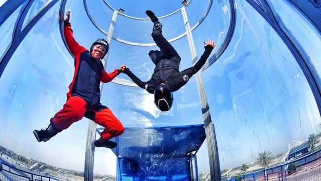 The Fun Fly wind tunnel in UAE