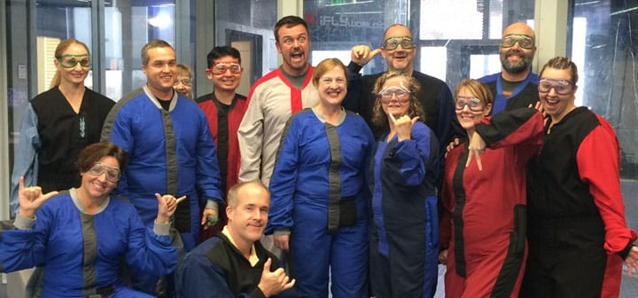 indoor-skydiving-corporate-team-building-group