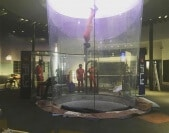 Instructors flying at iFLY Chicago Lincoln Park