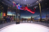 A high flight at iFLY Westchester.