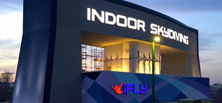 iFLY Westchester Soft Opening Header Image
