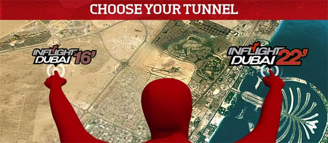 Inflight Dubai 22 Foot Tunnel Homepage