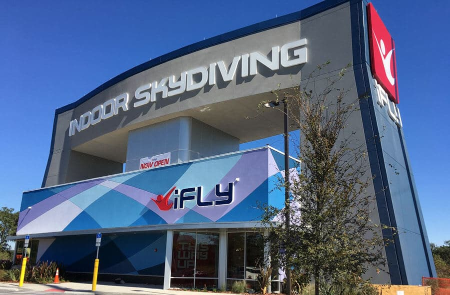 iFLY Tampa Exterior