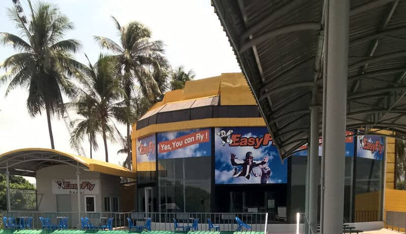 The EasyFly Wind Tunnel in Thailand