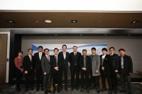 A photo of Tunnel Technologies and Tacos Telecom who will build the first wind tunnel in South Korea.