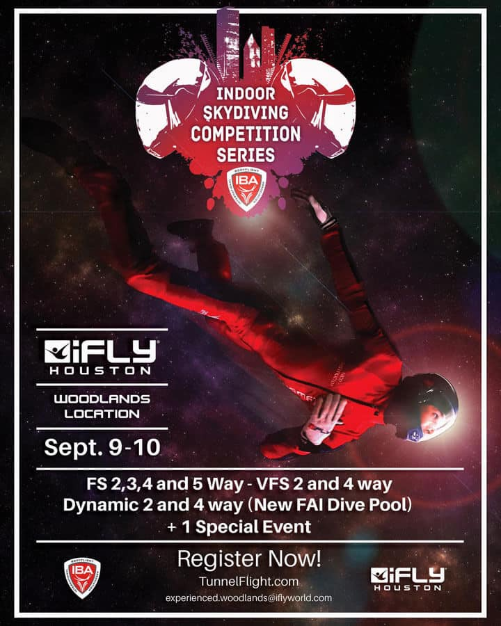 IBA 2016 Competition Series at iFLY Houston Flyer