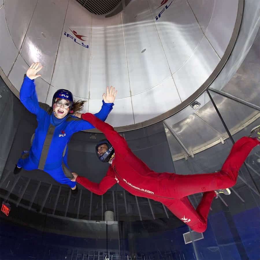 OVERVIEW. iFLY is an indoor skydiving experience that creates true free fall conditions, just like skydiving, without having to jump out of an airplane. iFLY Yonkers's 1, hp vertical wind tunnel generates a wall-to-wall cushion of air, on which you safely float.