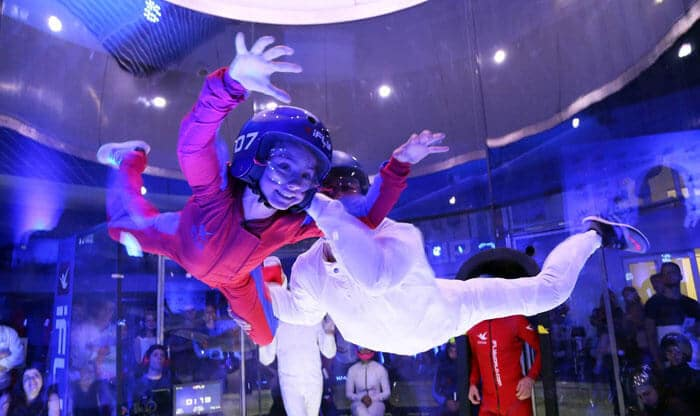 First Time Flyer at iFLY Sao Paulo Opening