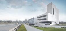 Rendering of Future Flyspot Katowice