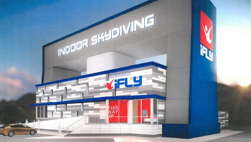 iFLY Liberty Township Rendering