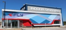 iFLY San Antonio Facility During the Day