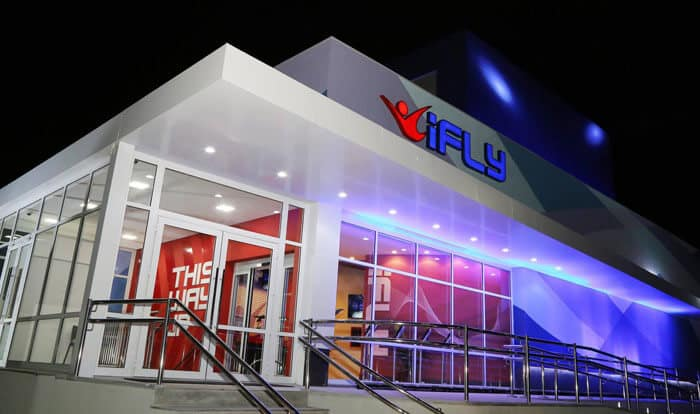 iFLY Sao Paulo Exterior at the Opening