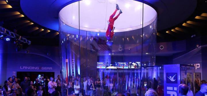 iFLY Sao Paulo Grand Opening Flight