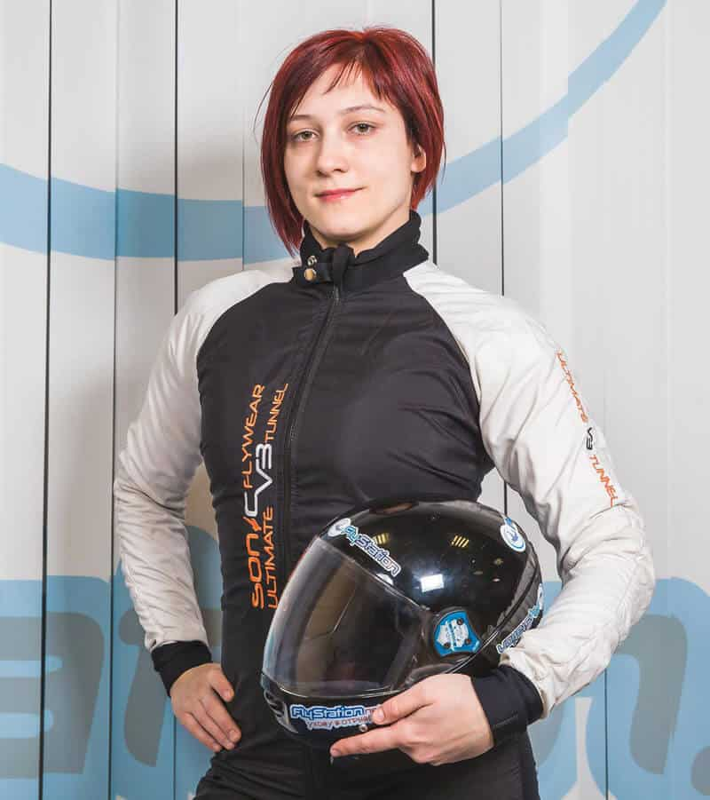Olga Bakulina Wind Tunnel Coach Photo