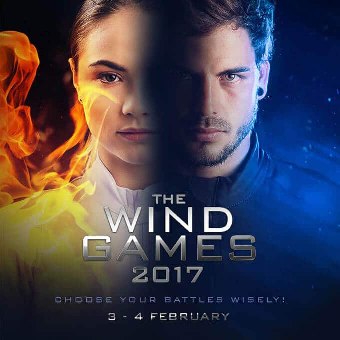 The Wind Games 2017 Flyer