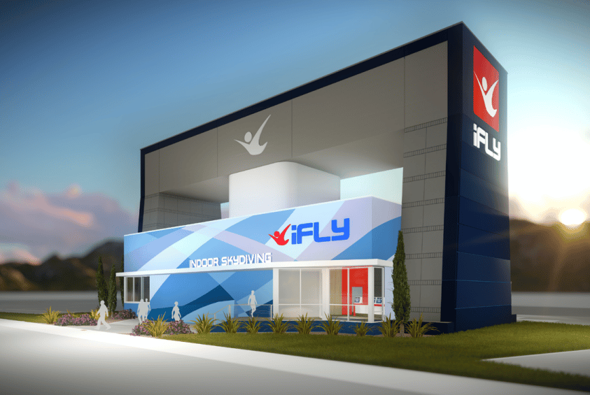 Rendering of the Future iFLY Minnesota Location