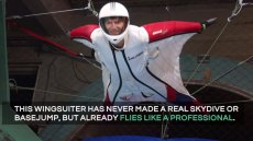 Indoor Wingsuit Flying Promo Video
