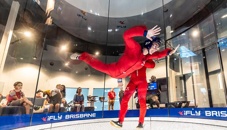 First Time Flyer in iFLY Brisbane