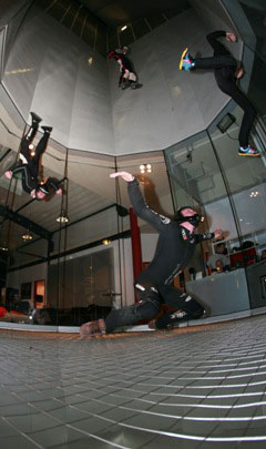 4-Way Indoor Skydiving at Bottrop