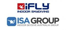 iFLY and ISAG Logos