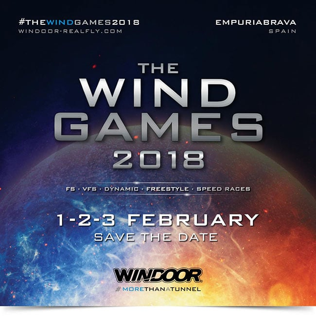 The Wind Games 2018 Flyer