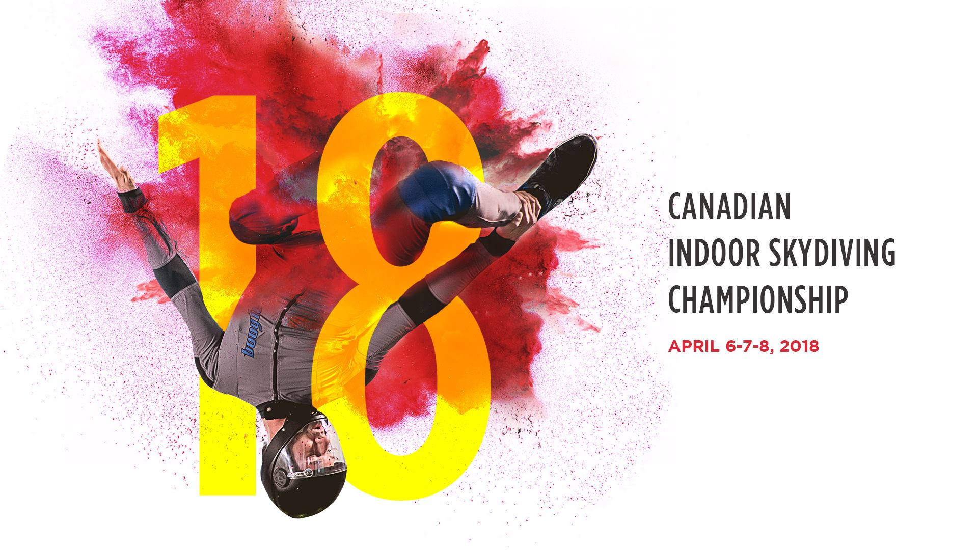 2018 Canadian Indoor Skydiving Champ Flyer