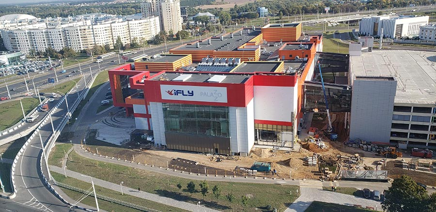 iFLY Minsk progress